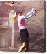 Golfer Canvas Print