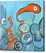 Golfo Eggd Canvas Print
