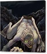 Gollum Descends Canvas Print