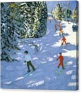 Gondola Austrian Alps Canvas Print