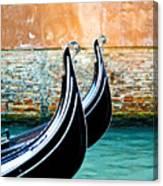 Gondola In Venice 1 Canvas Print