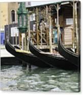 Gondola Pier Canvas Print