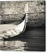 Gondola Wall Canvas Print