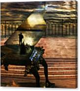 Gondolier Sonata Canvas Print