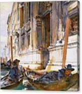 Gondoliers Siesta 1904 Canvas Print
