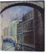Gondoliers Canvas Print