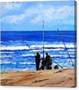 Gone Fishing 2 Canvas Print