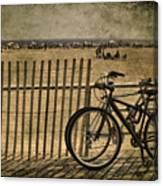 Gone Swimming Canvas Print
