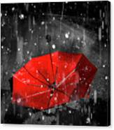 Gone With The Rain Canvas Print