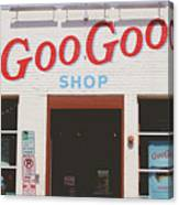 Goo Goo Shop- Photography By Linda Woods Canvas Print