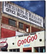 Goo Goo Shop Canvas Print
