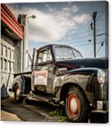 Goober's Tow Truck Canvas Print