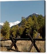 Good Fences Make Good Neighbors .... Robert Frost Canvas Print