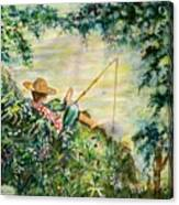 Good Fishing Canvas Print