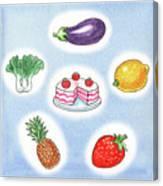 Good Food Canvas Print