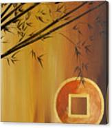 Good Fortune Bamboo 2 Canvas Print