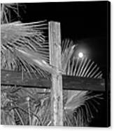 Good  Friday  In  Black  And  White Canvas Print