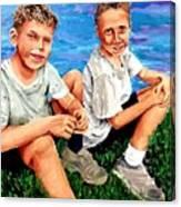 Good Friends S Canvas Print
