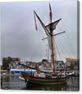 Good Friends Sailboat South Haven Canvas Print