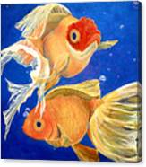 Good Luck Goldfish Canvas Print