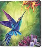 Good Luck - Honeysuckle Canvas Print