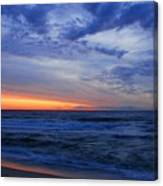 Good Morning - Jersey Shore Canvas Print