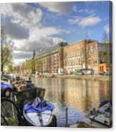 Good Morning Amsterdam Canvas Print