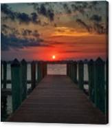 Good Morning Fort Myers Canvas Print