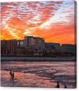 Good Morning Grand Rapids Canvas Print