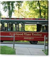 Good Time Trolley Canvas Print