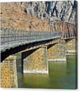 Goodloe E. Byron Memorial Footbridge Canvas Print