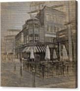 Goody Glovers Irish Pub - Boston Canvas Print