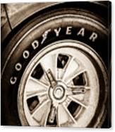 Goodyear Tire -0250s Canvas Print
