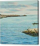 Goose Neck Cove Canvas Print