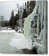 Gooseberry Frozen Falls Canvas Print