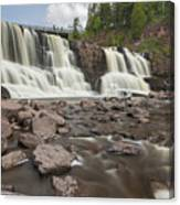 Gooseberry Middle Falls 24 Canvas Print