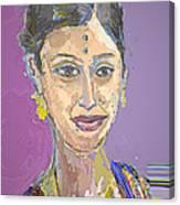 Gopika II Canvas Print