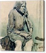 Gorbun2 1881 Ilya Repin Canvas Print
