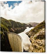 Gordon Dam Tasmania  Canvas Print