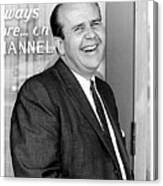 Gordon E. Doc Hamilton 1926  2004 Kvoa Tv Tucson Arizona Dick Mayers Photo C.1968 Canvas Print