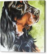 Gordon Setter Canvas Print