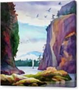 Gorge Entrance View Canvas Print