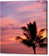 Gorgeous Hawaiian Sunset - 1 Canvas Print