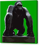 Gorilla Art Canvas Print