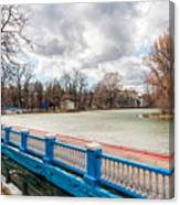 Gorky Park In Winter Canvas Print