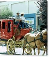 Goshen Parade 1980-2 Canvas Print