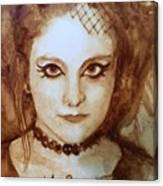 Goth Lady Canvas Print