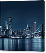 Gotham City Skyline Canvas Print