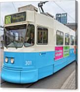 Gothenburg City Tram Canvas Print