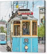 Gothenburg Liseberg Tram Canvas Print